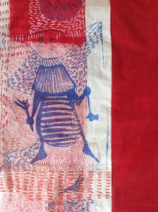 ...took a bit of stitching to the Forest just to keep my hand in....