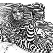 Imtiaz Dharker drawing