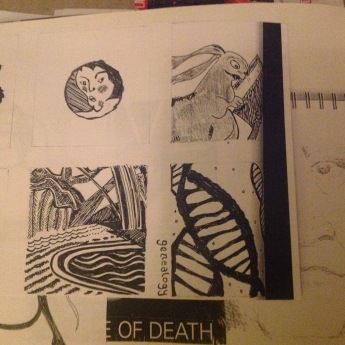 Sketch book for Grey anatomy
