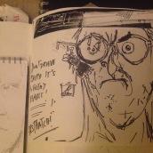 Ralph sketch book