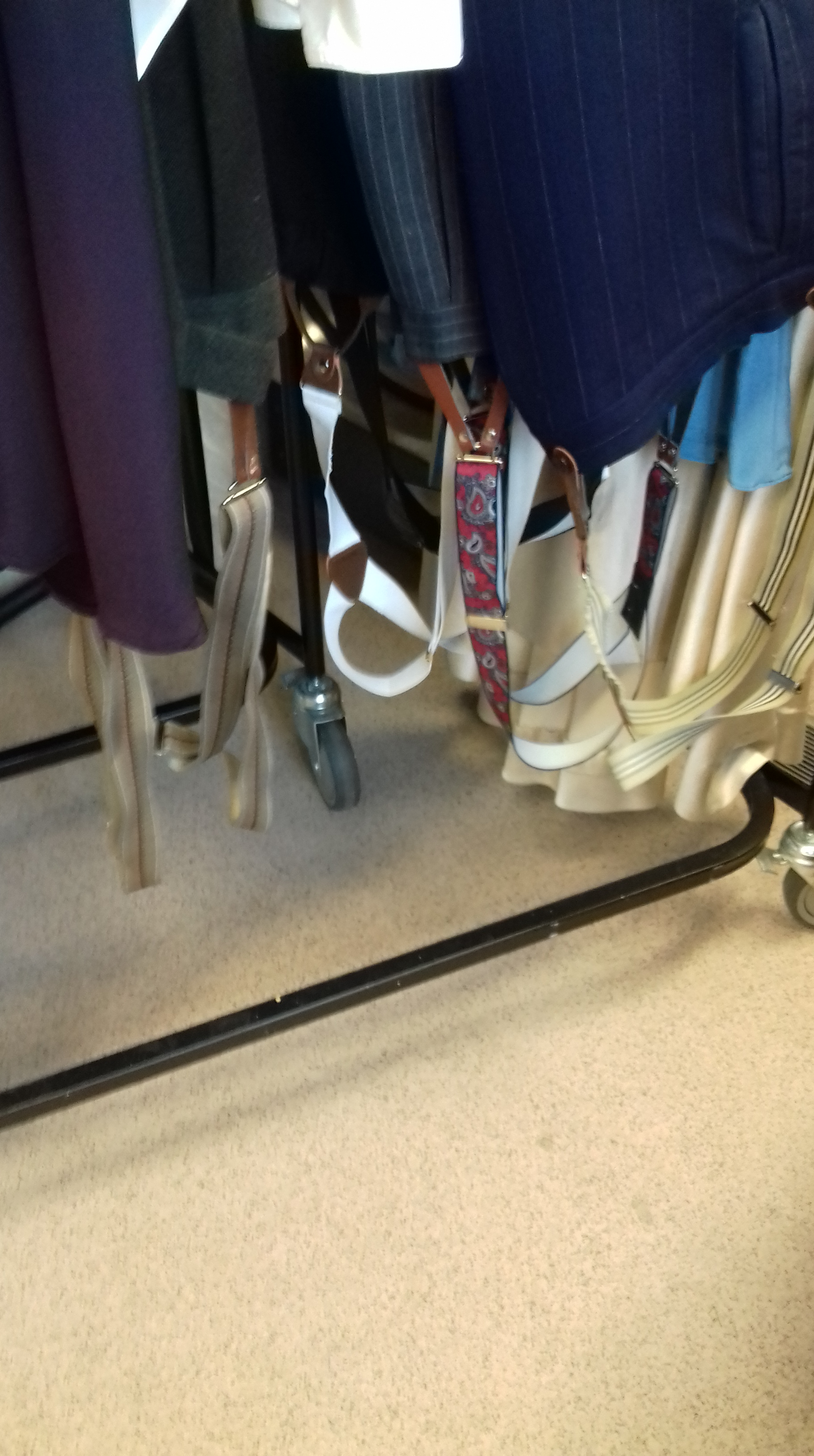 braces wardrobe
