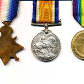 Some of the medals he was awarded